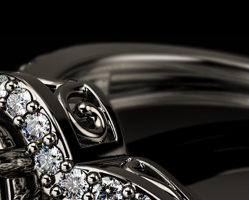 jewelry photo rendering