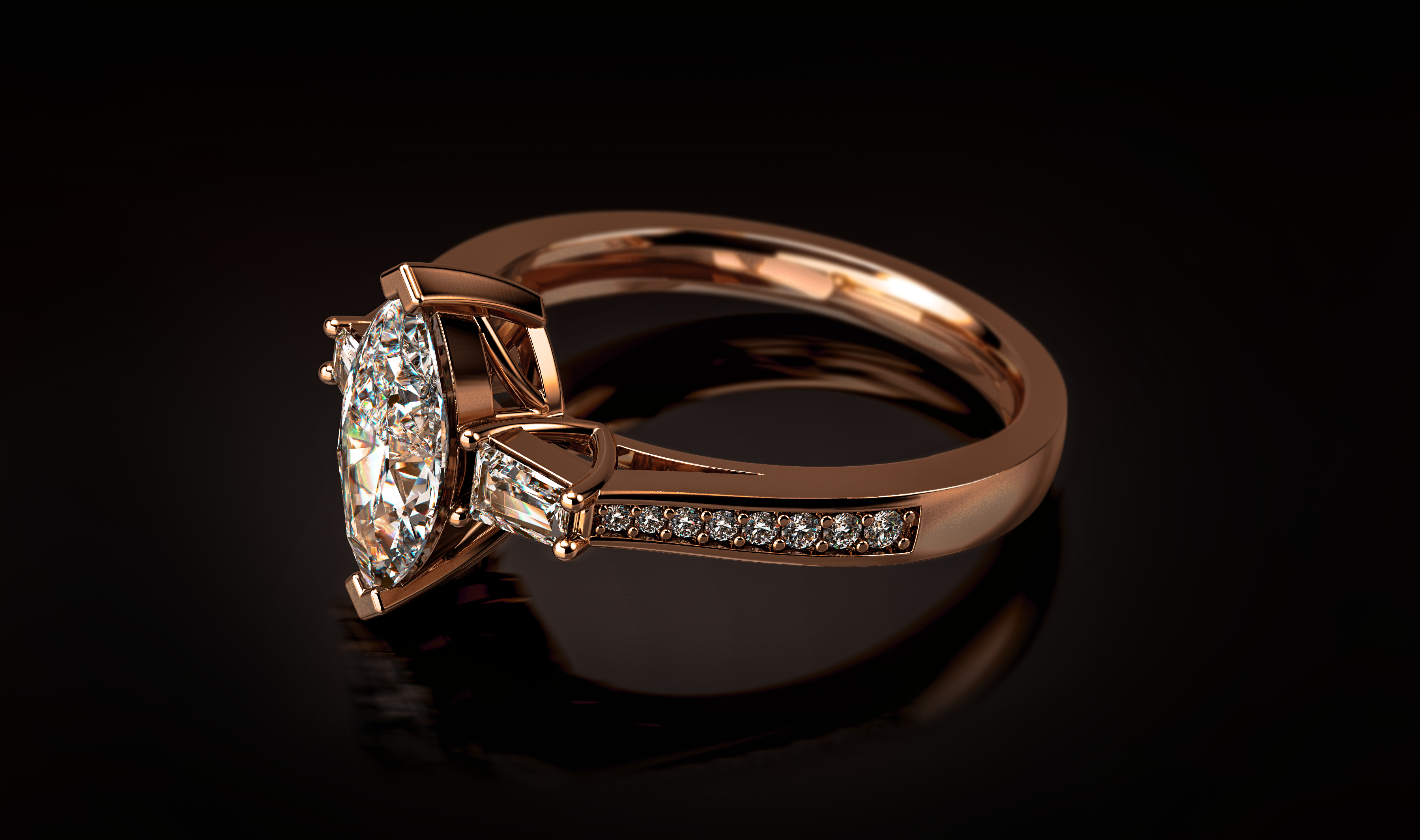Video Rendering - 3D Jewelry Rendering - CAD Master