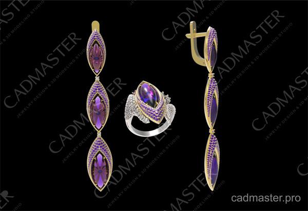 jewelry earring models